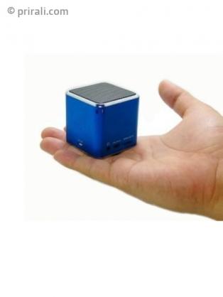 mini enceinte cube mp3 sd radio usb. Black Bedroom Furniture Sets. Home Design Ideas